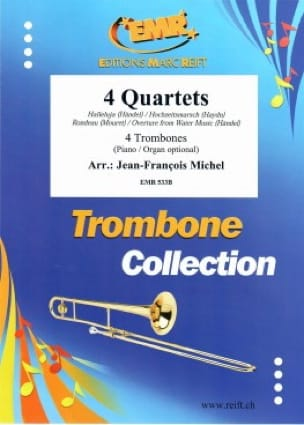 Händel / Mouret / Haydn - Partition - Trombone - laflutedepan.com