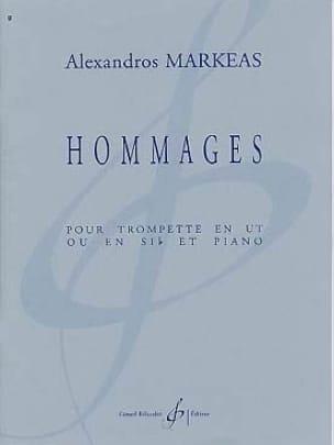 Hommages - Alexandros Markeas - Partition - laflutedepan.com