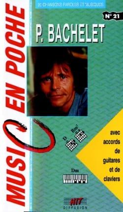 Music en poche N° 21 Pierre Bachelet Partition laflutedepan