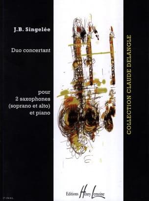 Duo Concertant Jean-Baptiste Singelée Partition laflutedepan