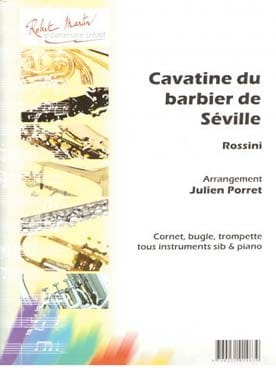 Cavatine du Barbier de Séville ROSSINI Partition laflutedepan