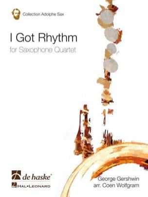 I Got Rhythm GERSHWIN Partition Saxophone - laflutedepan