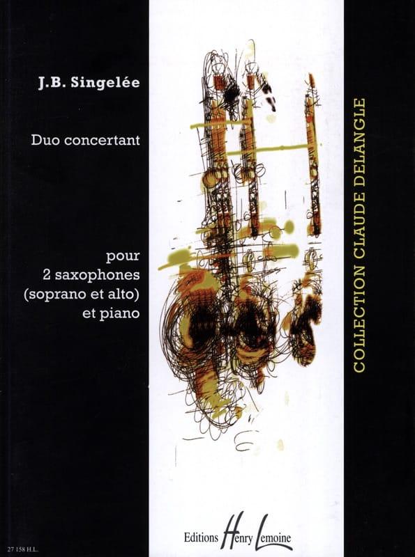 Duo Concertant - Jean-Baptiste Singelée - Partition - laflutedepan.com