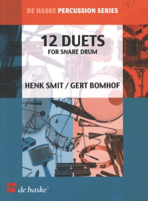 Snare Drum 12 Duets - Henk Smit & Gert Bomhof - laflutedepan.com