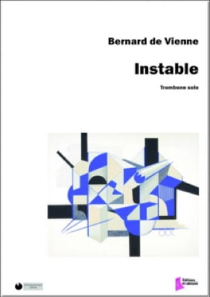 instable - Vienne Bernard de - Partition - Trombone - laflutedepan.com
