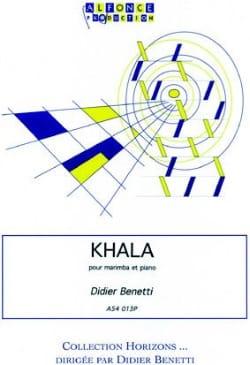 Khala Didier Benetti Partition Marimba - laflutedepan