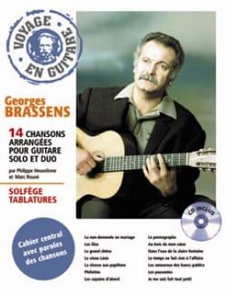 Georges Brassens - Viaggiando in chitarra - Partition - di-arezzo.it