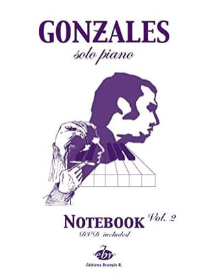 Solo Piano Notebook Volume 2 Chilly Gonzales Partition laflutedepan