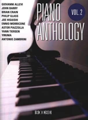 Piano anthology volume 2 Partition Pop / Rock - laflutedepan