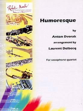 Humoresque DVORAK Partition Saxophone - laflutedepan