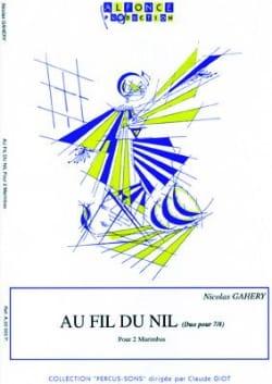 Au Fil du Nil Duo Pour 7/8 Nicolas Gahery Partition laflutedepan