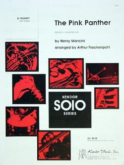 Henry Mancini - The Pink Panther - Partition - di-arezzo.co.uk