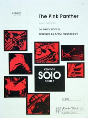 The Pink Panther - MANCINI - Partition - Trompette - laflutedepan.com
