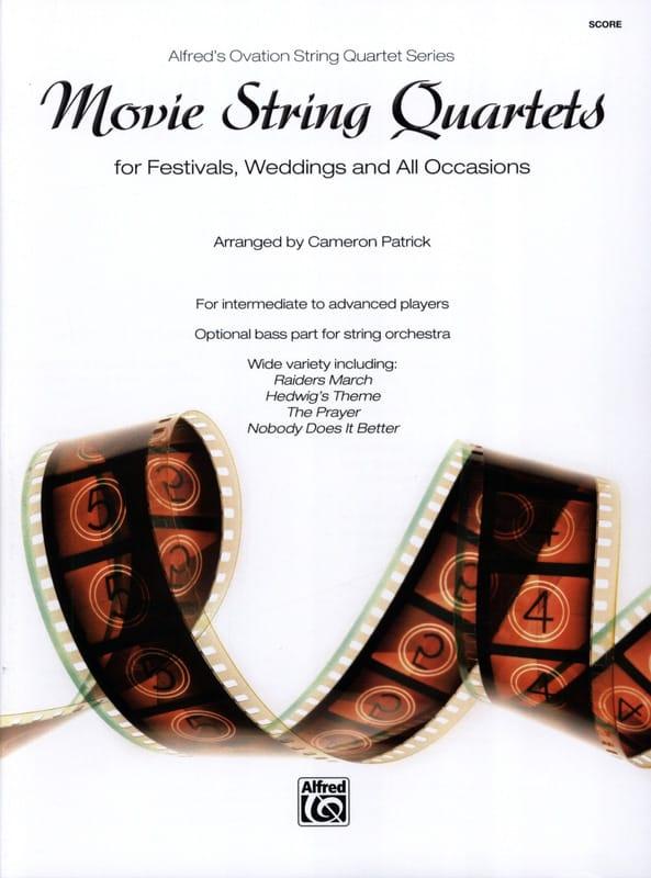 Movie String Quartets for Festivals, Weddings, and All Occasions - laflutedepan.com