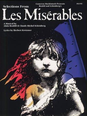 Les Miserables Claude-Michel Schönberg Partition laflutedepan