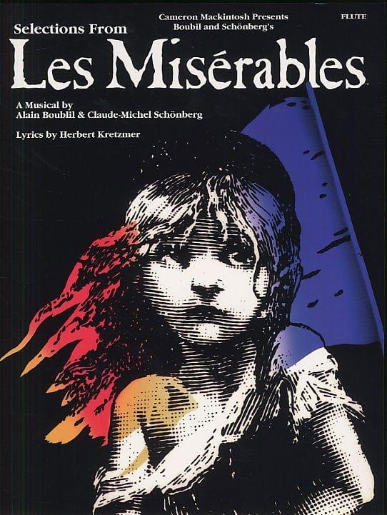 Les Miserables - Claude-Michel Schönberg - laflutedepan.com