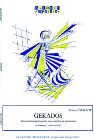 Gekados - Yannick Guillot - Partition - laflutedepan.com