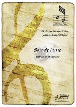 Soir de Lune Marty-Lejon Christine / Soldano Jean-Claude laflutedepan