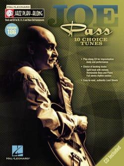 Jazz Play-Along Volume 186 - Joe Pass Joe Pass Partition laflutedepan
