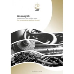 Hallelujah - Quatuor de Cors - Leonard Cohen - laflutedepan.com