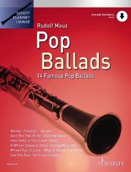 Pop Ballads Partition Clarinette - laflutedepan