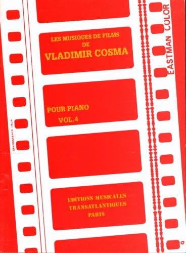 Les Musiques de Films Volume 4 - Vladimir Cosma - laflutedepan.com