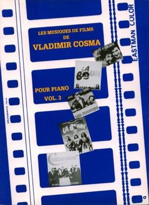 Les Musiques de Films Volume 3 Vladimir Cosma Partition laflutedepan