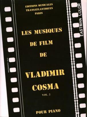 Les Musiques de Films Volume 2 Vladimir Cosma Partition laflutedepan