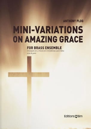 Mini-Variations On Amazing Grace Anthony Plog Partition laflutedepan