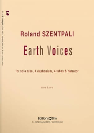 Earth Voices - Roland Szentpali - Partition - Tuba - laflutedepan.com