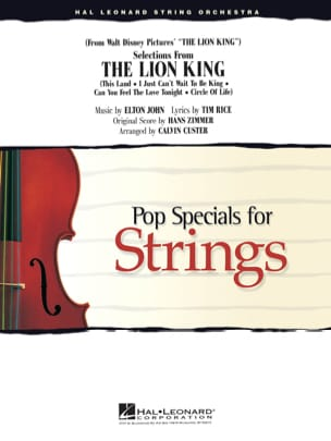 Selections From The Lion King - Pop Specials For Strings laflutedepan