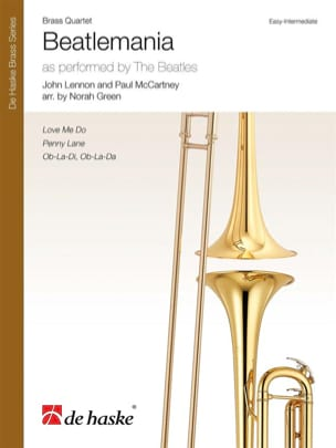 Beatlemania - Quatuor de Cuivres Beatles Partition laflutedepan