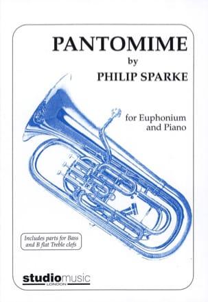 Pantomime Philip Sparke Partition Tuba - laflutedepan