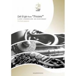 Let it go from Frozen - Quatuor de Cors DISNEY Partition laflutedepan
