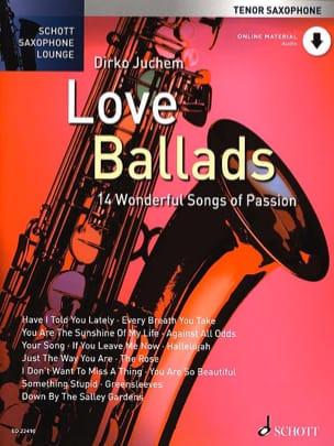 Love Ballads Partition Saxophone - laflutedepan