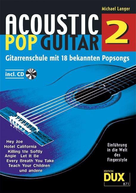 Acoustic pop guitar volume 2 - Michael Langer - laflutedepan.com