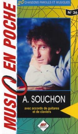 Music en poche N° 36 Alain Souchon Partition laflutedepan
