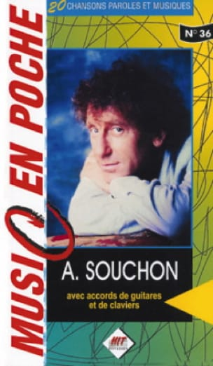 Music en poche N° 36 - Alain Souchon - Partition - laflutedepan.com