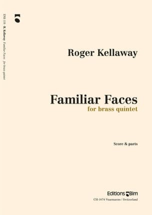 Familiar Faces - Roger Kellaway - Partition - laflutedepan.com