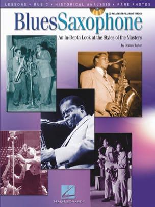Blues Saxophone Partition Saxophone - laflutedepan