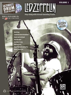 Ultimate Drum play-along volume 1 Led Zeppelin Partition laflutedepan