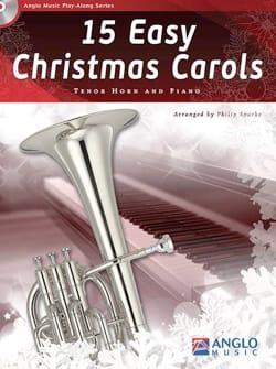 15 Easy Christmas Carols Noël Partition Cor - laflutedepan