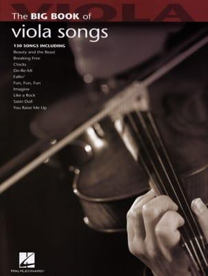 The Big Book of Viola Songs Partition Alto - laflutedepan