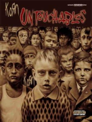Untouchables - Korn - Partition - Pop / Rock - laflutedepan.com