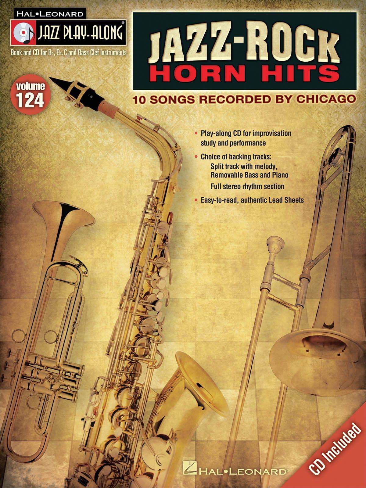 Jazz play-along volume 124 - Jazz-Rock Horn Hits - laflutedepan.com
