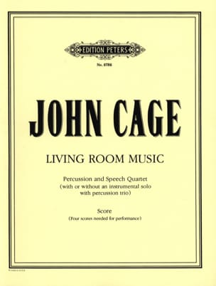 Living Room Music - Score CAGE Partition laflutedepan