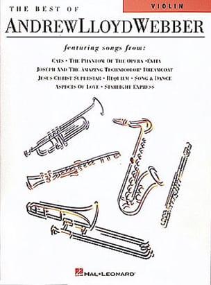 The Best Of ... Andrew Lloyd Webber Partition Violon - laflutedepan