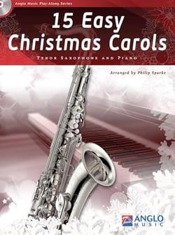 15 Easy Christmas Carols Noël Partition Saxophone - laflutedepan