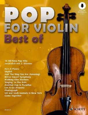 Pop for Violin - Volume Best Of Partition Violon - laflutedepan