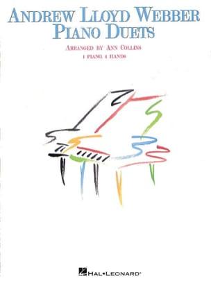 Lloyd Webber piano duets Webber Lloyd Partition Piano - laflutedepan